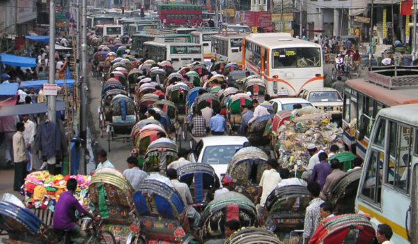 Rushtid i Dhaka, Bangladesh