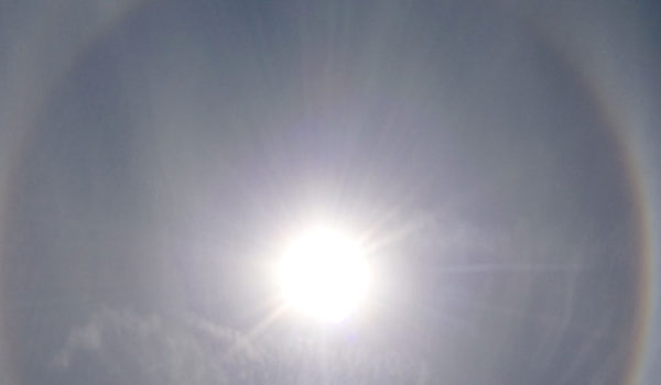 Halo rundt solen