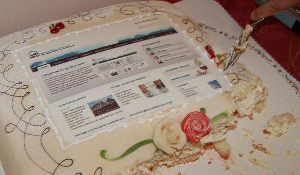Kake i anledning NILUs nye web