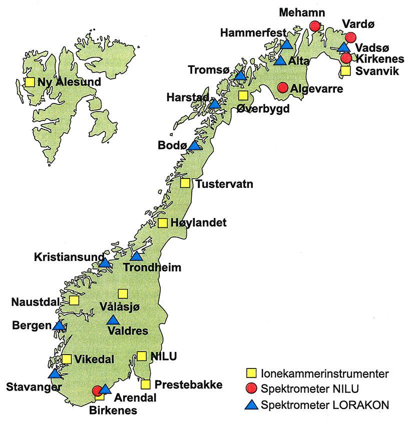 Karta Arendal Norge.A Look Back At History Nilu S Monitoring Of Radioactive Radiation