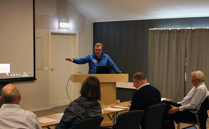 Statssekretær Atle Hamar holder velkomsttale