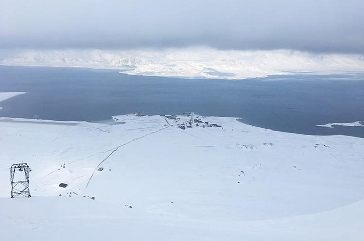 Utsikt fra Zeppelinobservatoriet