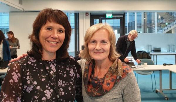 Anita Evenstad og Eldbjørg Heimstad
