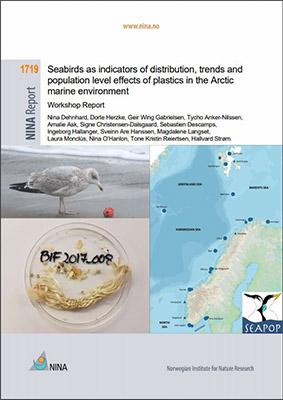 Forsiden av rapporten fra workshopen om plast i sjøfugl