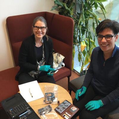 NILU-forskerne Hilde Uggerud og Golnoush Abbasi