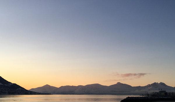Utsikt fra Tromsø