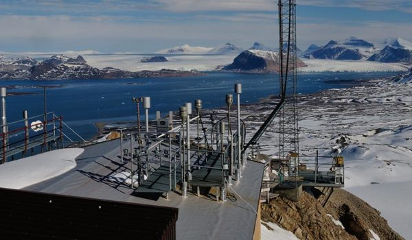 Zeppelinobservatoriet på Svalbard