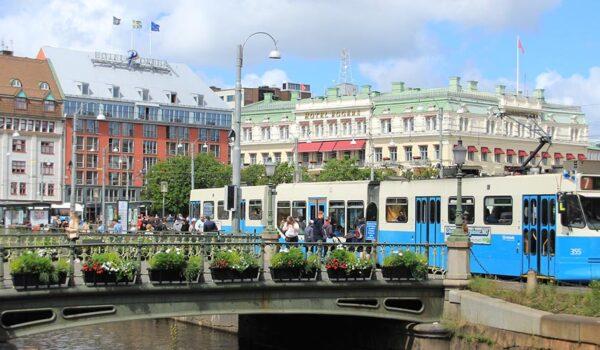 """Gøteborg er en av fire """"urban living labs"""" i NordicPATH-prosjektet"""