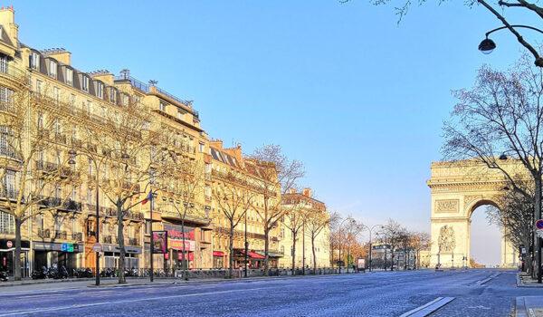 Paris under nedstengningen, 26. mars 2020