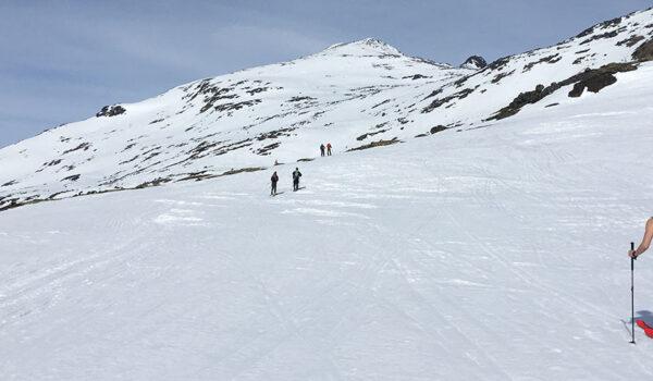 Skigåere på påskefjellet, Hemsedal